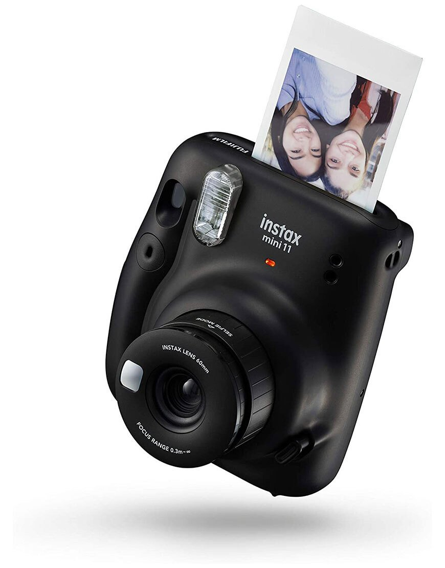 instax mini 11 Camera, Charcoal Gray + 50 Shot Pack